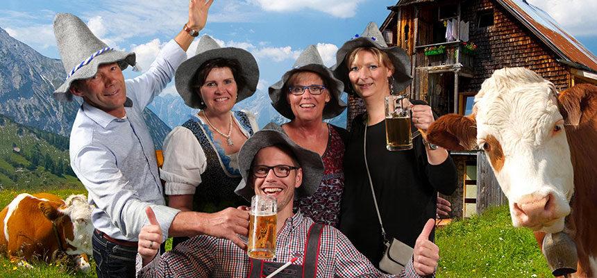 FH Loohuis BV viert Oktoberfest bij Frans op den Bult